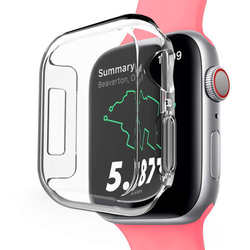 2x Clear Screen Protector Guard Case for Apple Watch 40mm (Series 4)
